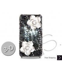 Elegant Floral Bling Swarovski Crystal iPhone 8 and iPhone 8 Plus Case