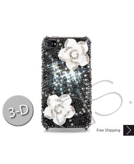 Elegant Floral Bling Swarovski Crystal Phone Cases