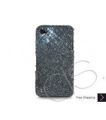 Anomaly Bling Swarovski Crystal iPhone 12 Case iPhone 12 Pro and iPhone 12 Pro MAX Case - Black