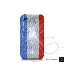 National Series Bling Swarovski Crystal iPhone XS and MAX iPhone XR Case - France