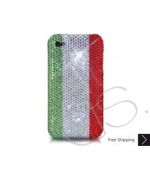 National Series Bling Swarovski Crystal iPhone XS and MAX iPhone XR Case - Italy