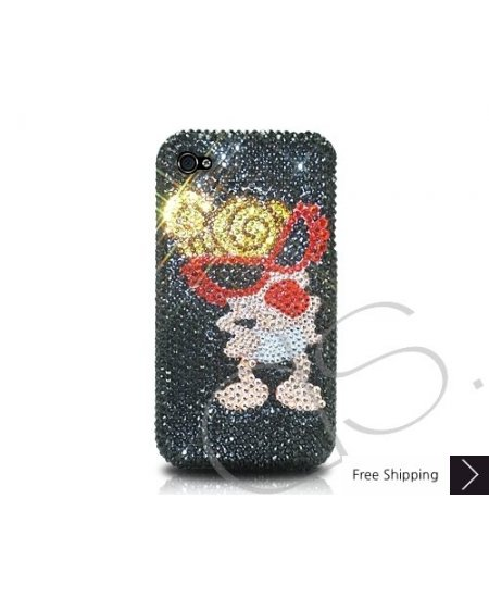 Hysteric Lady Bling Swarovski Crystal Phone Cases