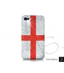 National Series Bling Swarovski Crystal iPhone 6 and iPhone 6 Plus Case - England
