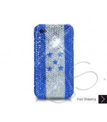 National Series Bling Swarovski Crystal iPhone 6 and iPhone 6 Plus Case - Honduras