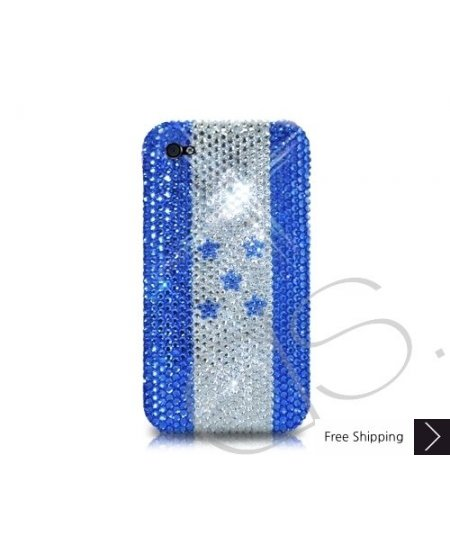 National Series Bling Swarovski Crystal Phone Case - Honduras