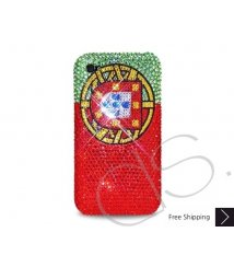 National Series Bling Swarovski Crystal iPhone 6 and iPhone 6 Plus Case - Portugal