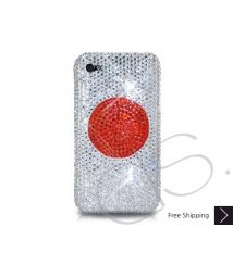 National Series Bling Swarovski Crystal Phone Case - Japan
