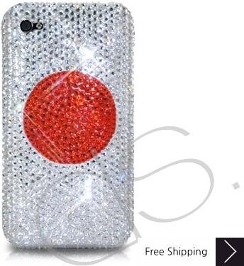 ナショナル シリーズ キラキラのスワロフ スキー クリスタル電話ケース - 日本