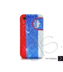 National Series Bling Swarovski Crystal Phone Case - Slovenia