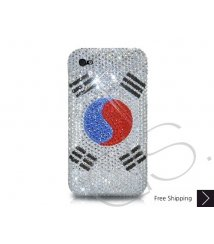 National Series Bling Swarovski Crystal iPhone 6 and iPhone 6 Plus Case - Korea Republic