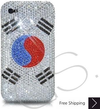 ナショナル シリーズ キラキラのスワロフ スキー クリスタル電話ケース - 韓国