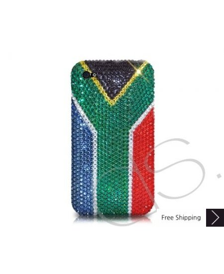 National Series Bling Swarovski Crystal Phone Case - South Africa