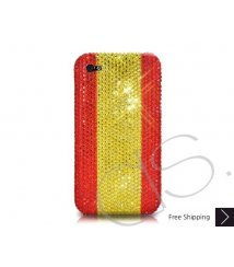 National Series Bling Swarovski Crystal iPhone XS and MAX iPhone XR Case - Spain