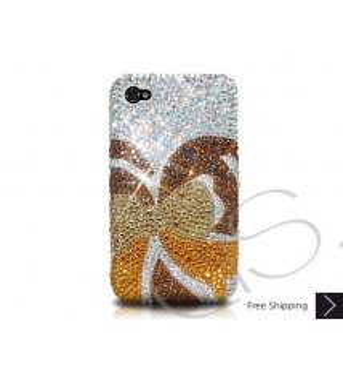 Butterfly Bling Swarovski Crystal Phone Case - Gold