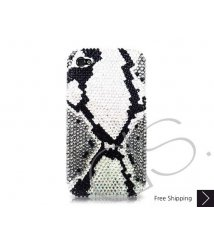 Split Bling Swarovski Crystal Phone Cases - Gray
