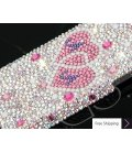 Fall In Love Personalized Bling Swarovski Crystal Phone Cases - Pair