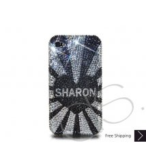 Initials Series Personalized Bling Swarovski Crystal iPhone 12 Case iPhone 12 Pro and iPhone 12 Pro MAX Case - Sharon