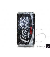 Coca Cola Zero Bling Swarovski Crystal iPhone XS and MAX iPhone XR Case