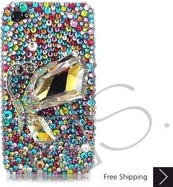 Colorato ダイアモンド キラキラのスワロフ スキー クリスタル電話ケース