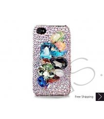 Exagerer 3D Bling Swarovski Crystal iPhone 12 Case iPhone 12 Pro and iPhone 12 Pro MAX Case
