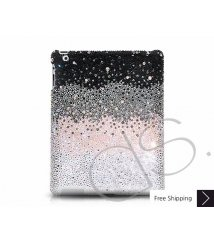 Gradation Crystal New iPad Case - Black