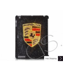 Porsche Swarovski Crystal iPad 2 New iPad Case