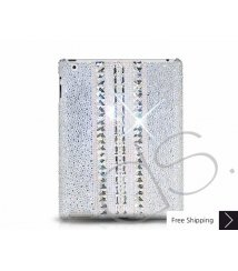 Parallel Crystal New iPad Case - Silver