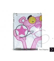 Panther Star Swarovski Crystal iPad 2 New iPad Case