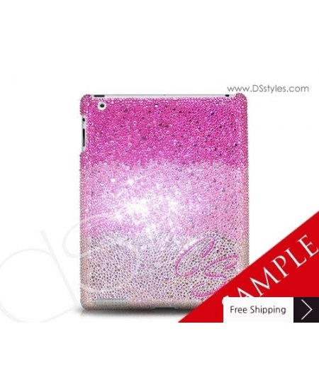 Grand Custom Swarovski Crystallized iPad 2 New iPad Case