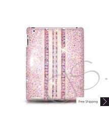 Parallel Crystal New iPad Case - Pink