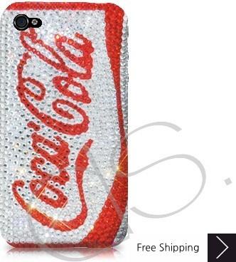 コカ ・ コーラ ゼロ シャネルクリスタルスワロフ スキー iPhone 4 ケース