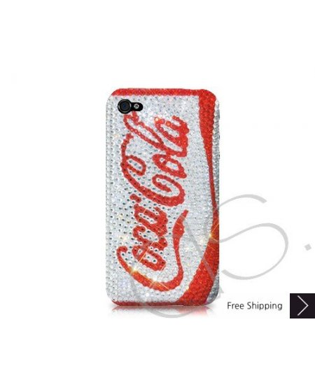 Coca Cola Zero Crystallized Swarovski iPhone 4 Case