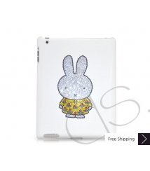 Cute Miffy Swarovski Crystal iPad 2 New iPad Case