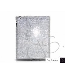 Classic Crystal New iPad Case - Silver