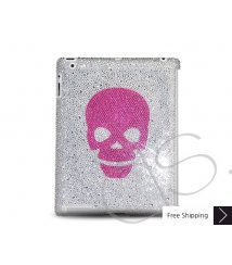Red Skull Crystal New iPad Case