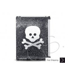 Crossed Skull Swarovski Crystal iPad 2 New iPad Case