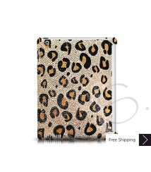 Leopardo Swarovski Crystal iPad 2 New iPad Case