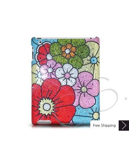 Bouquet Swarovski Crystal iPad 2 New iPad Case