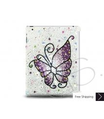 Butterfly Fantasy Swarovski Crystal iPad 2 New iPad Case