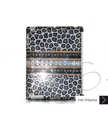 Stripe Print Crystal New iPad Case