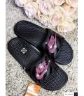 White Bling Nike Slides Blinged Sandals