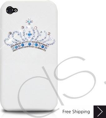 プリンセス ハローキティクリスタルスワロフ スキー IPHONE 4 ケース - ホワイト