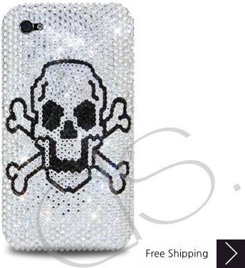 毒結晶スワロフ スキー iPhone 4 ケース - シルバー