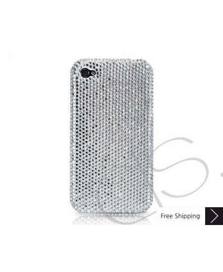 Classic Crystallized Swarovski iPhone 4 Case - Silver