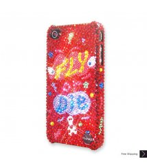 Fly Or Die Crystal iPhone 4 and iPhone 4S Case