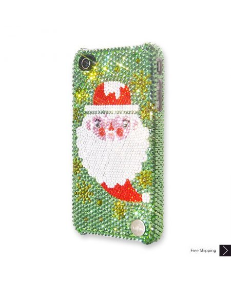 Santa Crystal iPhone 4 and iPhone 4S Case