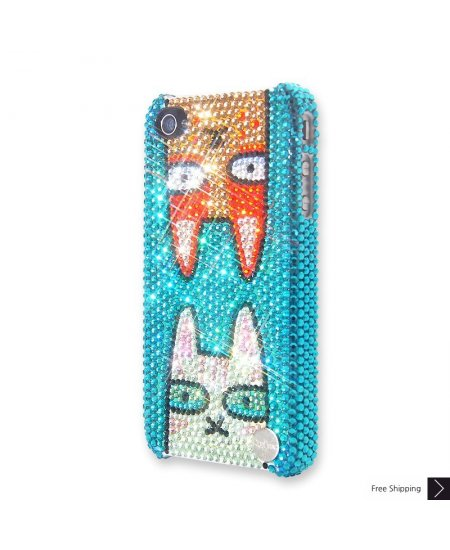 Catty Crystal iPhone 4 and iPhone 4S Case
