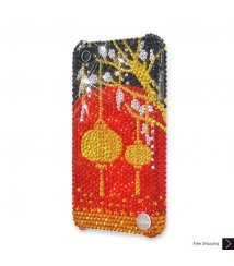 Chinese Lantern Crystal iPhone 4 and iPhone 4S Case