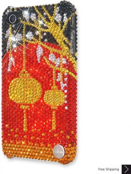 中国のランタン結晶 iPhone 4 と 4 s の iPhone ケース