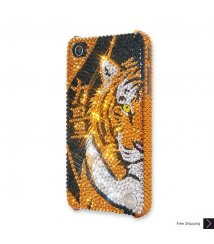 Tiger Power Crystal iPhone 4 and iPhone 4S Case